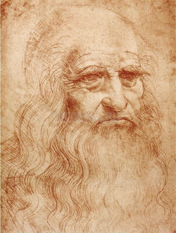 """Художники, картина """"Автопортрет"""", 20x26 см, на бумаге от Artwall"""