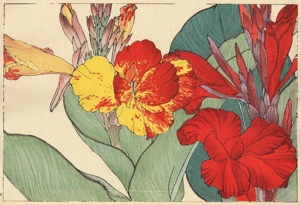 """Искусство, картина """"Танигами Конан «Канна»"""", 29x20 см, на бумаге от Artwall"""