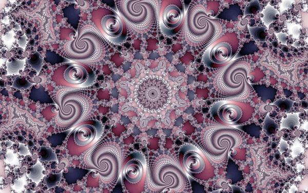 """Искусство, картина """"Фрактал"""", 32x20 см, на бумаге от Artwall"""