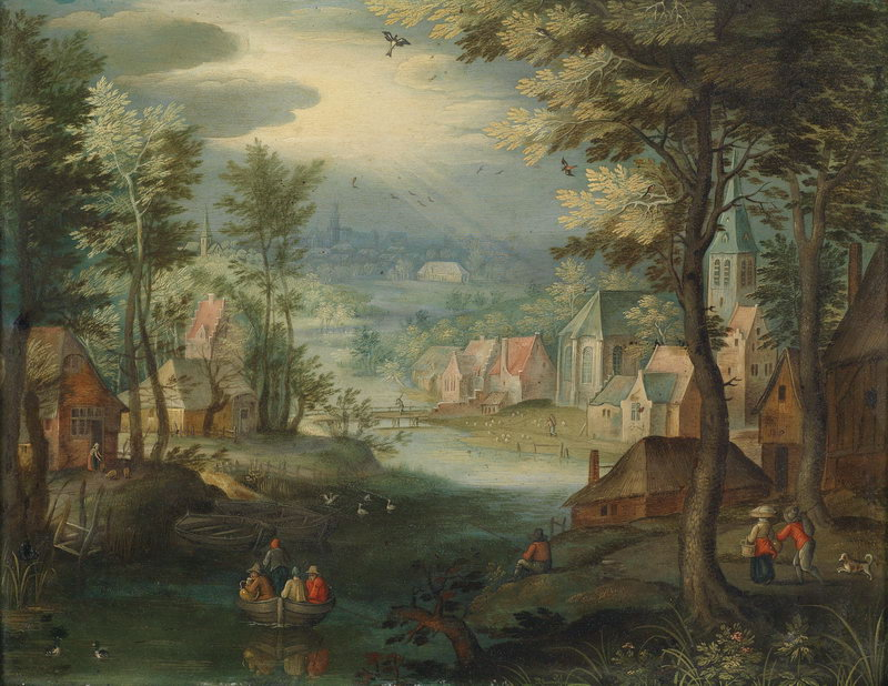"""Пейзажи """"Птер Гизельс"""", 26x20 см, на бумаге от Artwall"""