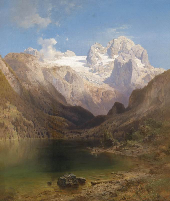 """Пейзажи """"Антон Ханш"""", 20x24 см, на бумаге от Artwall"""