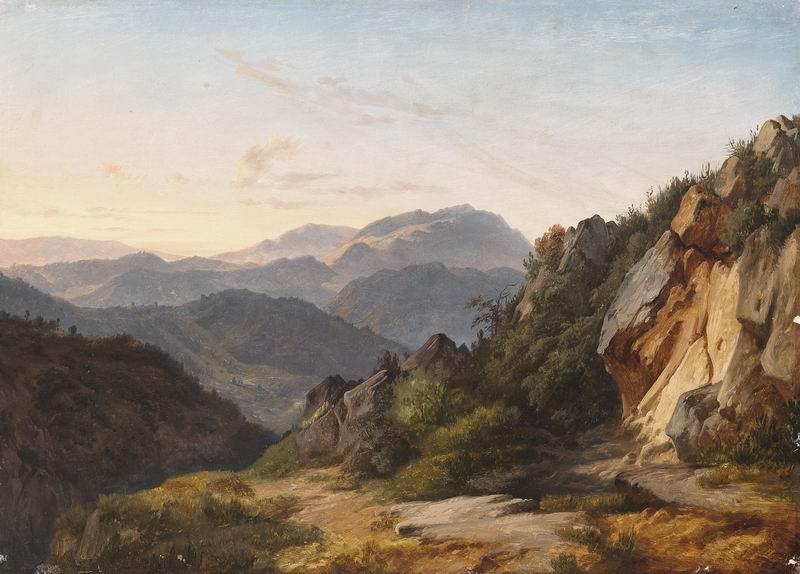 """Пейзажи """"Гайль Гуслайн"""", 28x20 см, на бумаге от Artwall"""