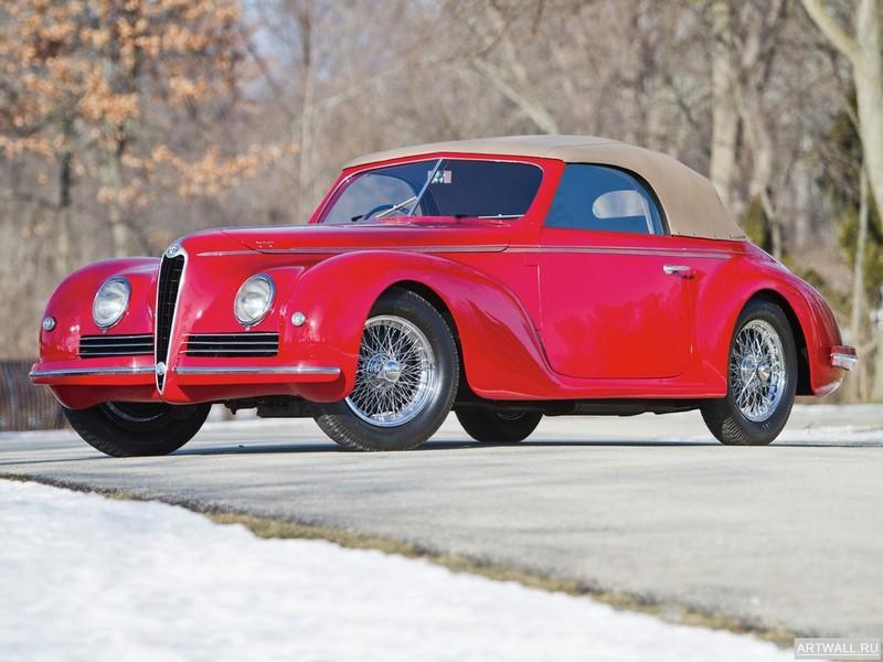 "Постер ""Alfa Romeo 1900 Sprint '1951-58"", 27x20 см, на бумаге от Artwall"