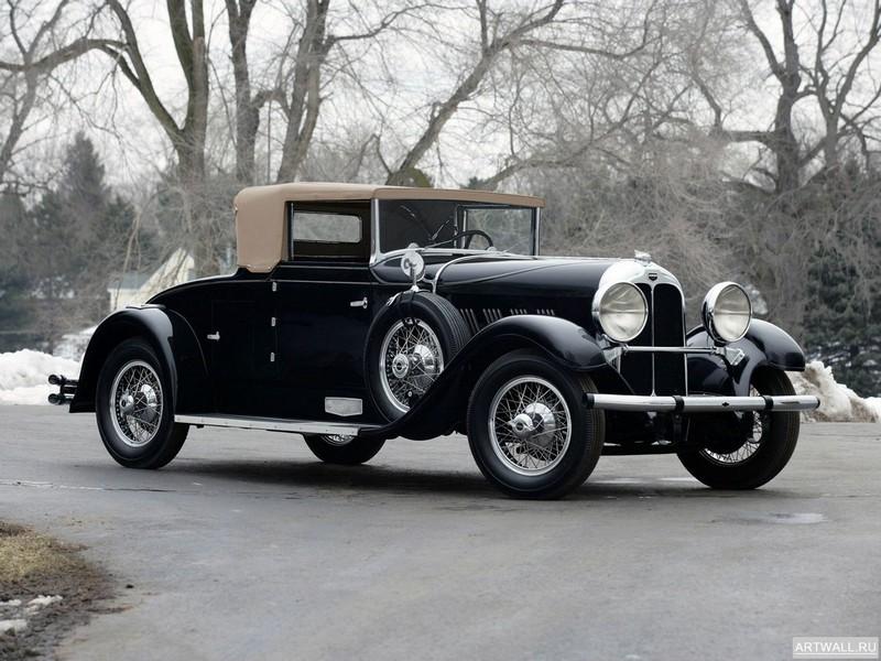 "Постер ""Auburn 115S Boattail Speedster '1928"", 27x20 см, на бумаге от Artwall"