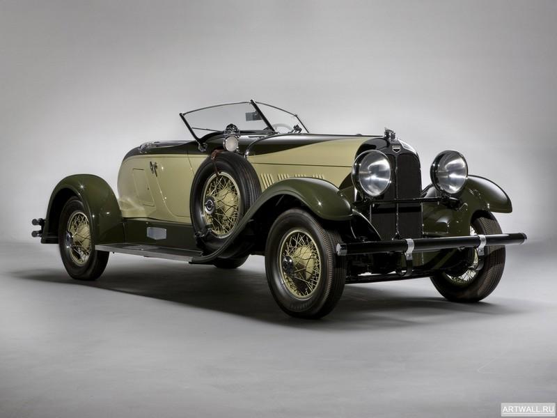 "Постер ""Auburn 12-161 Convertible Coupe '1932"", 27x20 см, на бумаге от Artwall"