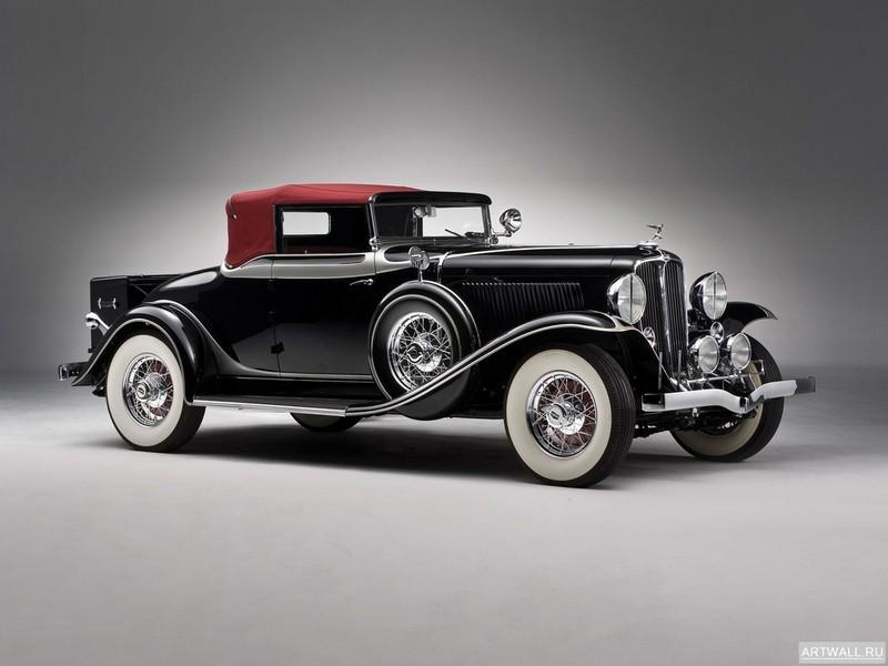 """Постер """"Auburn 8-100A Custom Phaeton '1932"""", 27x20 см, на бумаге от Artwall"""