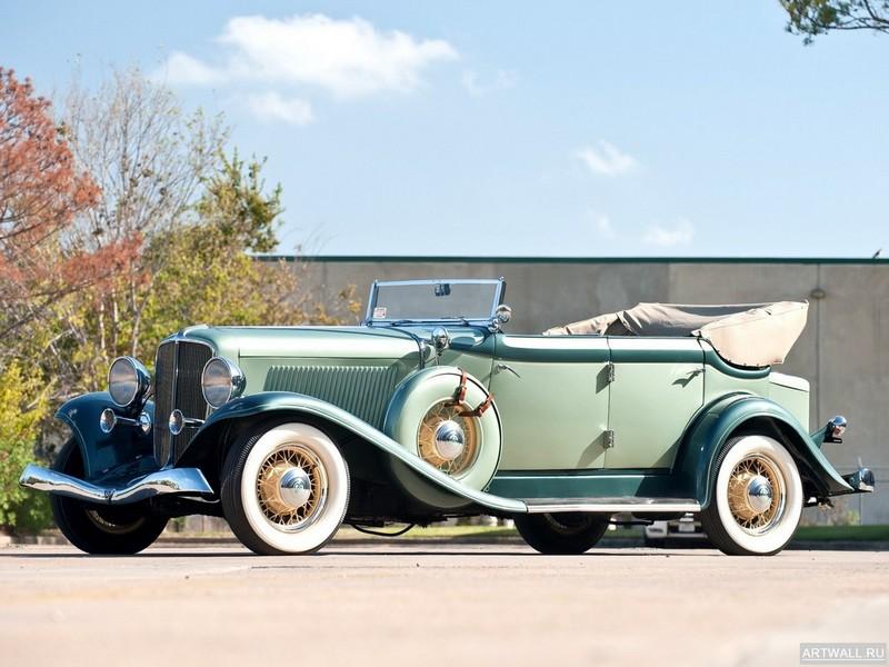 "Постер ""Auburn 8-90 Convertible Coupe '1929"", 27x20 см, на бумаге от Artwall"