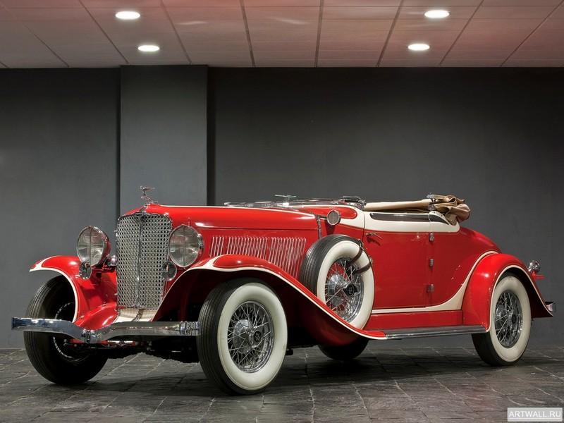 """Постер """"Auburn 8-90 Speedster '1929"""", 27x20 см, на бумаге от Artwall"""