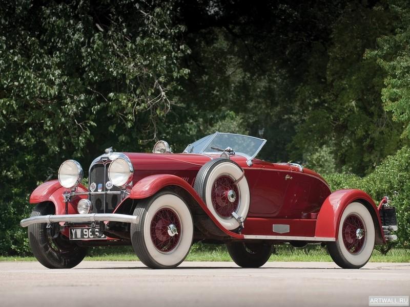 """Постер """"Auburn 8-98 Cabriolet '1931"""", 27x20 см, на бумаге от Artwall"""