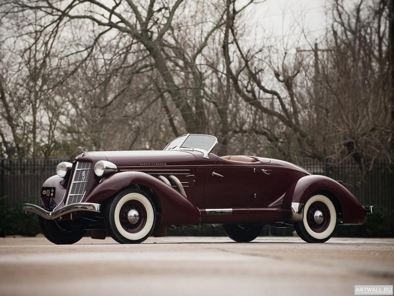 """Постер """"Auburn 851 SC Speedster '1935"""", 27x20 см, на бумаге от Artwall"""