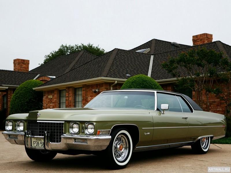 "Постер ""Cadillac Coupe de Ville '1971"", 27x20 см, на бумаге от Artwall"