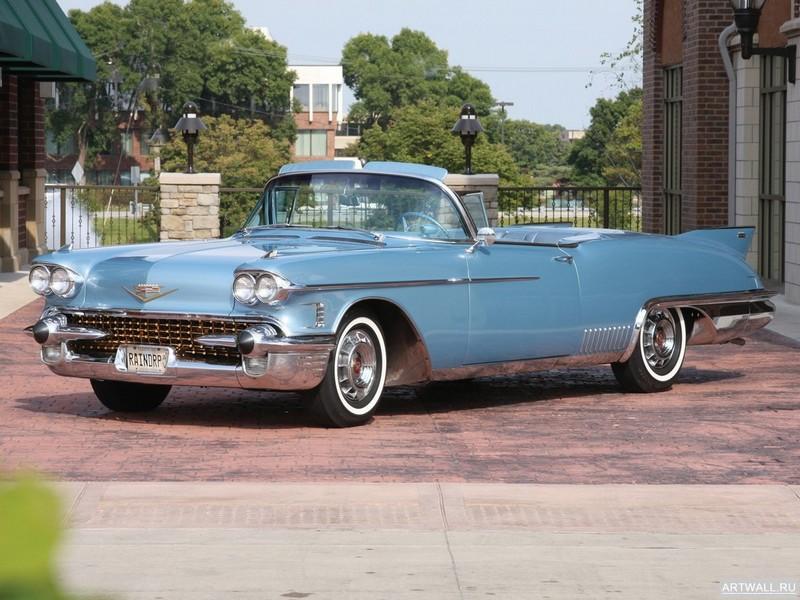 """Постер """"Cadillac Eldorado The Raindrop Dream Car '1958"""", 27x20 см, на бумаге от Artwall"""