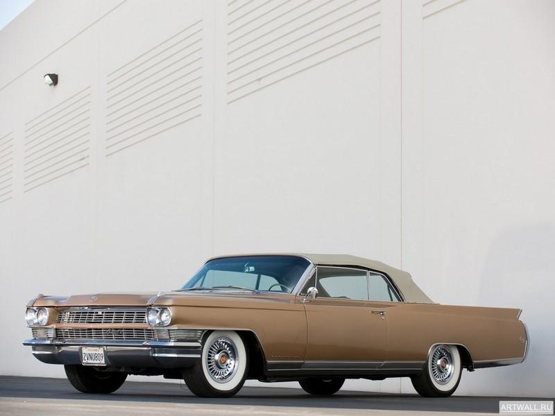 """Постер """"Cadillac Eldorado '1964"""", 27x20 см, на бумаге от Artwall"""