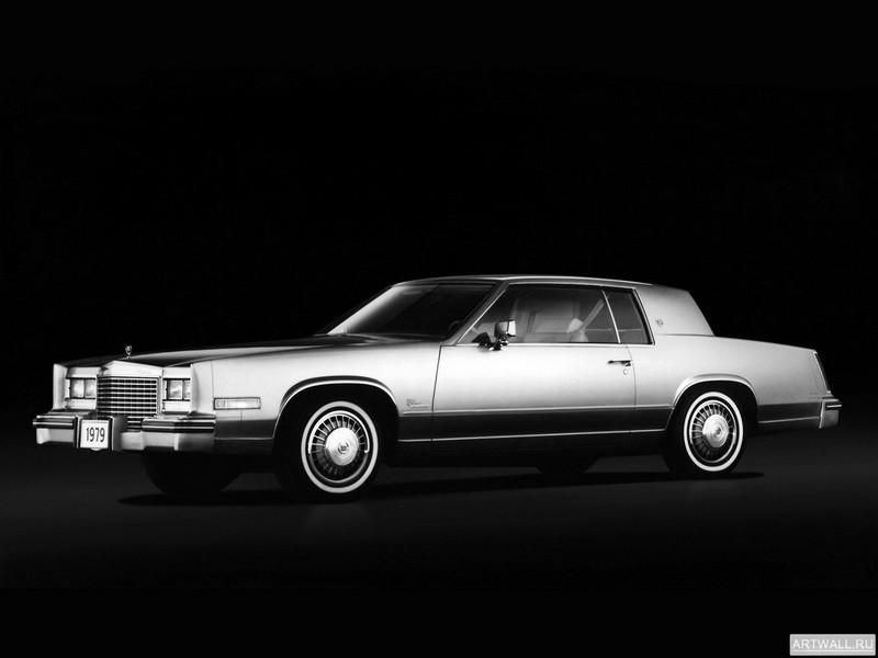 """Постер """"Cadillac Eldorado '1979"""", 27x20 см, на бумаге от Artwall"""