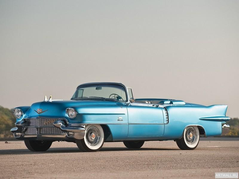 """Постер """"Cadillac Eldorado Biarritz '1956"""", 27x20 см, на бумаге от Artwall"""