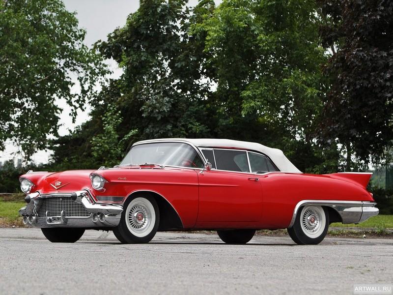 """Постер """"Cadillac Eldorado Biarritz '1957"""", 27x20 см, на бумаге от Artwall"""