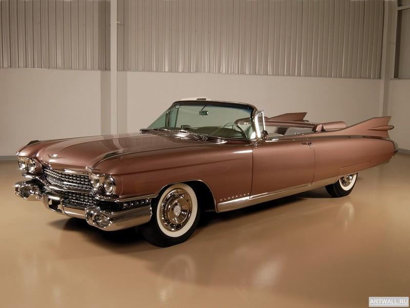 """Постер """"Cadillac Eldorado Biarritz '1959"""", 27x20 см, на бумаге от Artwall"""