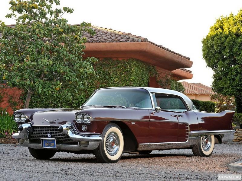 """Постер """"Cadillac Eldorado Brougham '1957-58"""", 27x20 см, на бумаге от Artwall"""