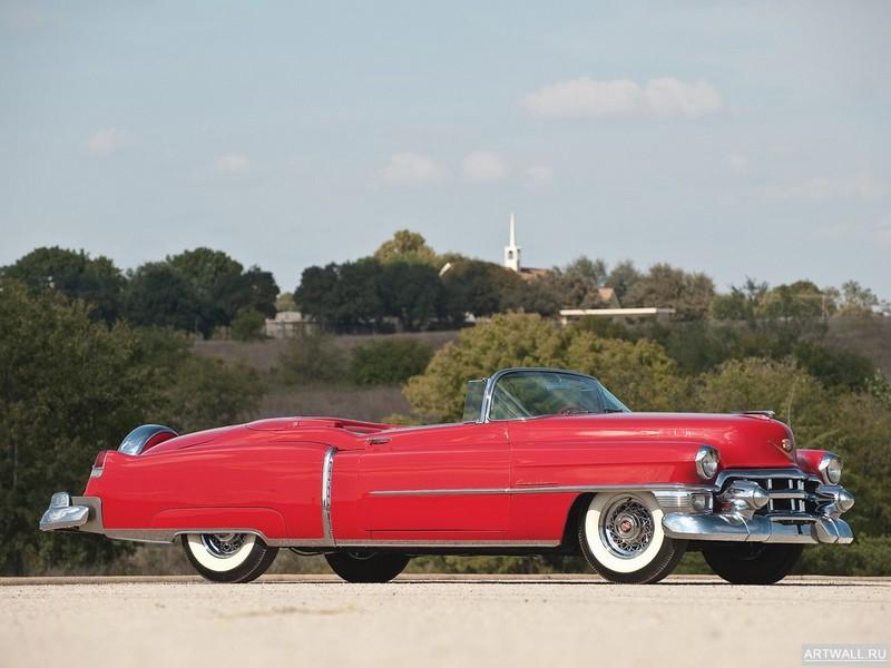 """Постер """"Cadillac Eldorado Convertible '1953"""", 27x20 см, на бумаге от Artwall"""