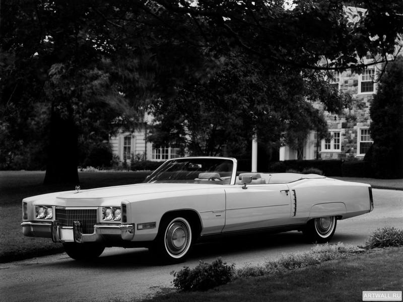 """Постер """"Cadillac Eldorado Convertible '1971"""", 27x20 см, на бумаге от Artwall"""