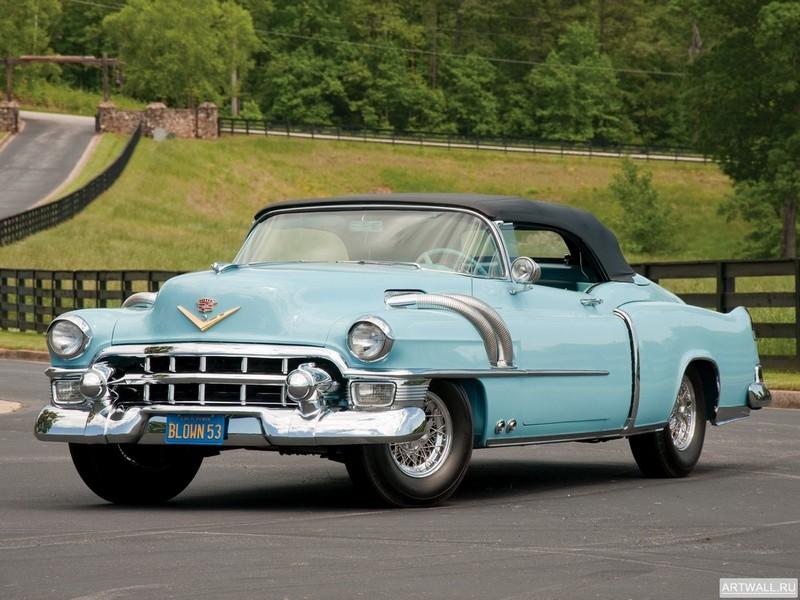 "Постер ""Cadillac Eldorado Convertible Supercharged Special '1953"", 27x20 см, на бумаге от Artwall"