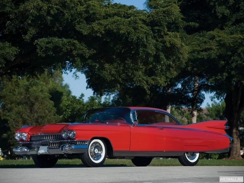 """Постер """"Cadillac Eldorado Seville '1959"""", 27x20 см, на бумаге от Artwall"""