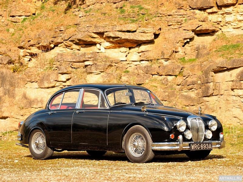"""Постер """"Daimler V8 250 '1962-69"""", 27x20 см, на бумаге от Artwall"""