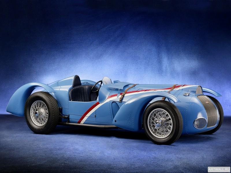 """Постер """"Delahaye 135 M Figoni et Falaschi Cabriolet '1937"""", 27x20 см, на бумаге от Artwall"""