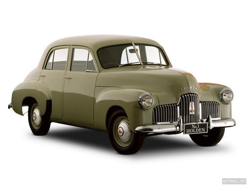 """Постер """"Holden 48-215 '1948-53"""", 27x20 см, на бумаге от Artwall"""
