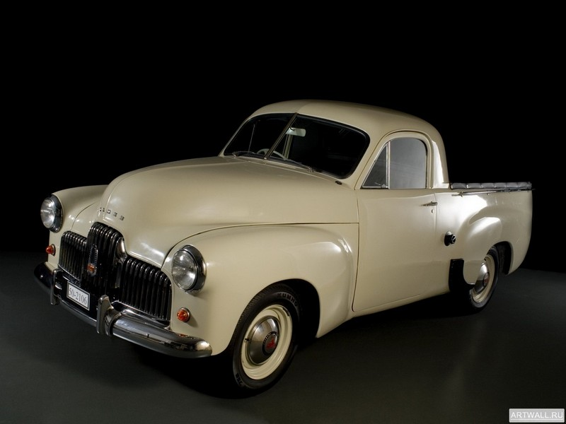 "Постер ""Holden 50-2106 Coupe Utility '1951-53"", 27x20 см, на бумаге от Artwall"