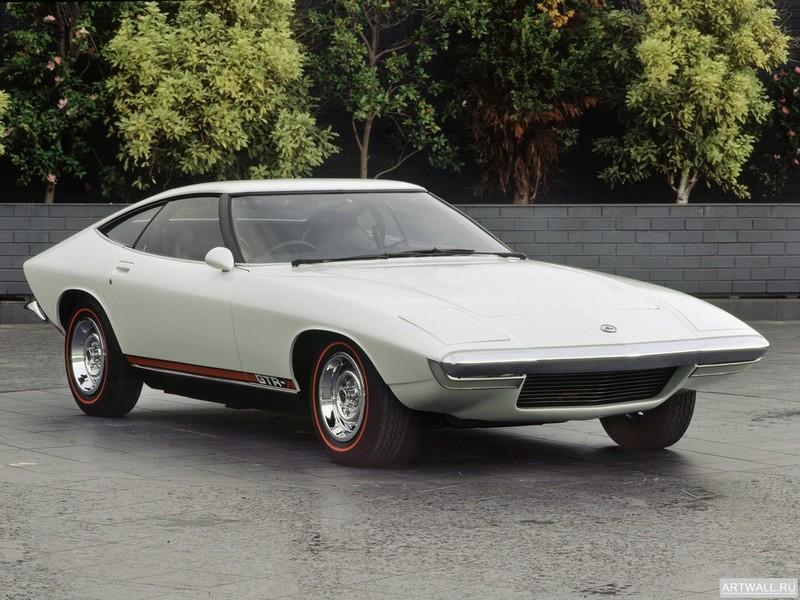 """Постер """"Holden GTR-X Concept '1970"""", 27x20 см, на бумаге от Artwall"""