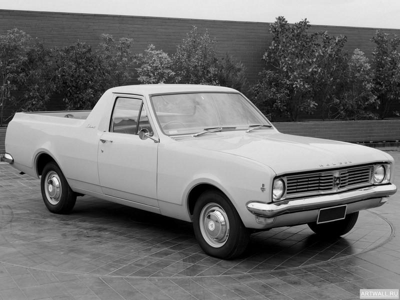 "Постер ""Holden HT Ute '1969-70"", 27x20 см, на бумаге от Artwall"