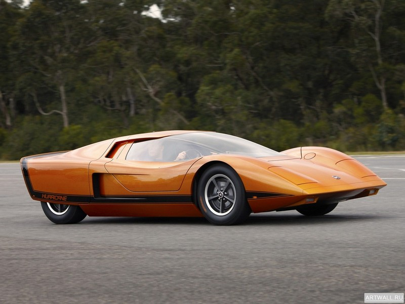 "Постер ""Holden Hurricane Concept Car '1969"", 27x20 см, на бумаге от Artwall"