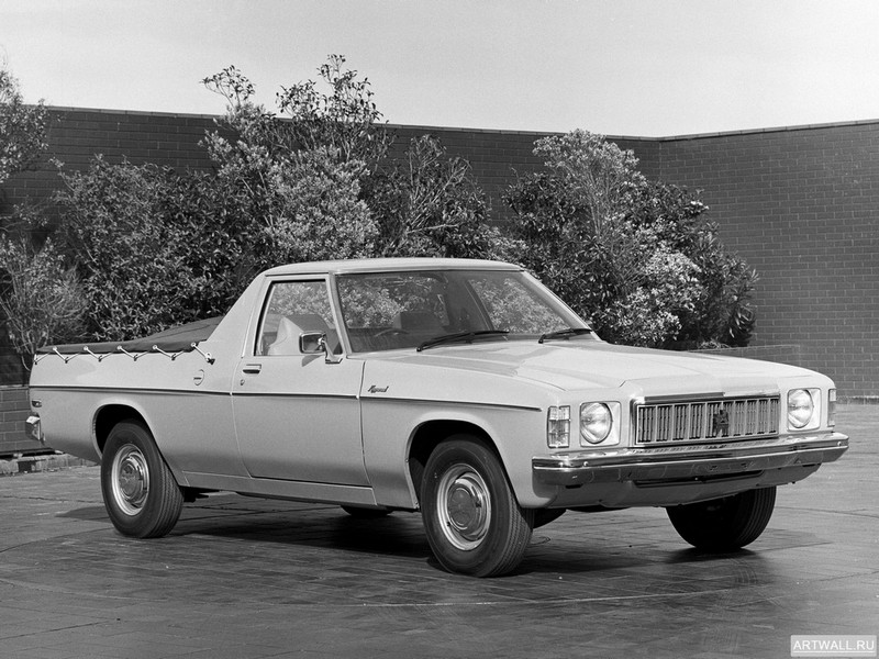 "Постер ""Holden HX Ute '1976-77"", 27x20 см, на бумаге от Artwall"