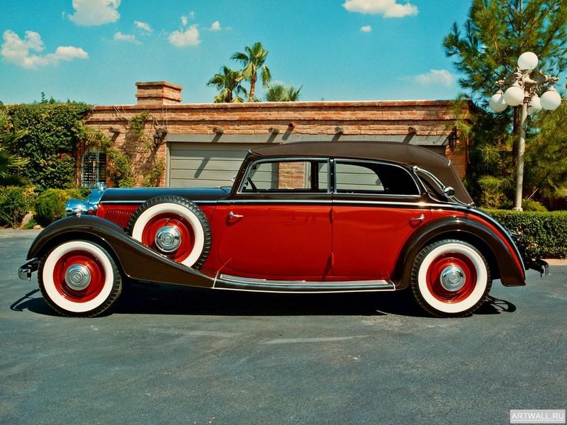 """Постер """"Horch 830 BL Cabriolet '1939"""", 27x20 см, на бумаге от Artwall"""