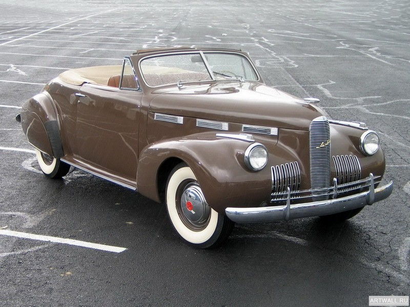 "Постер ""LaSalle Convertible Coupe (52) '1940"", 27x20 см, на бумаге от Artwall"