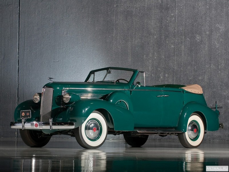 "Постер ""LaSalle Convertible Sedan '1937"", 27x20 см, на бумаге от Artwall"