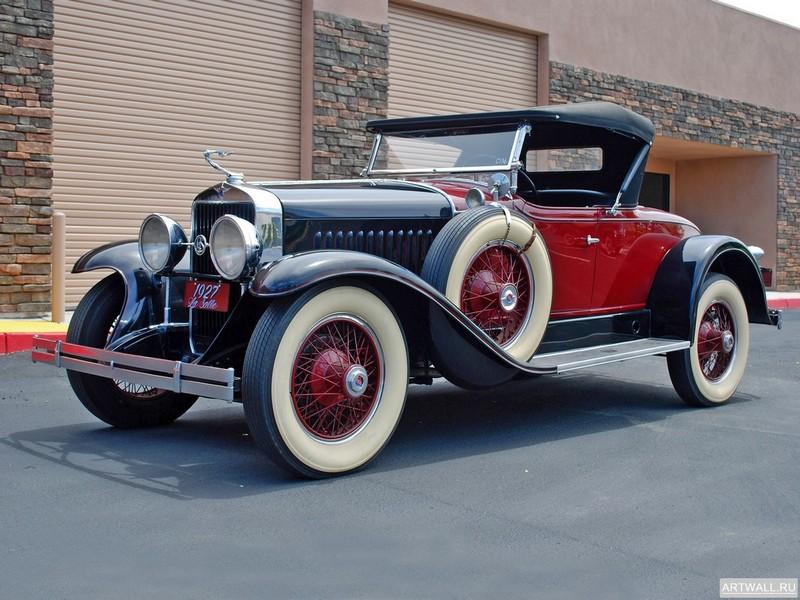 "Постер ""LaSalle Roadster '1927"", 27x20 см, на бумаге от Artwall"