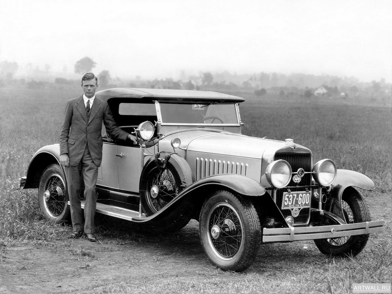 "Постер ""LaSalle Roadster (303) '1927"", 27x20 см, на бумаге от Artwall"
