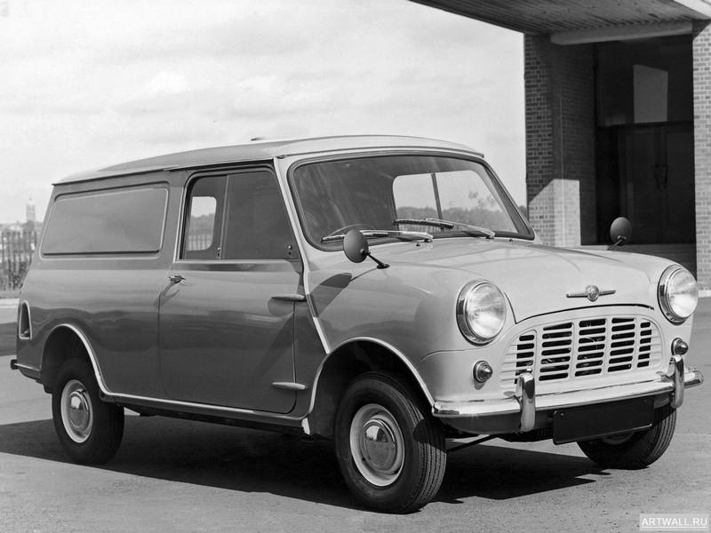 "Постер ""Morris Mini Van (ADO15) '1960-69"", 27x20 см, на бумаге от Artwall"