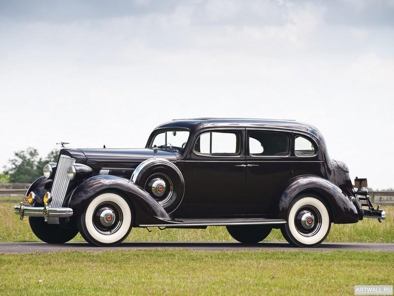 "Постер ""Packard 120 Sedan '1936"", 27x20 см, на бумаге от Artwall"