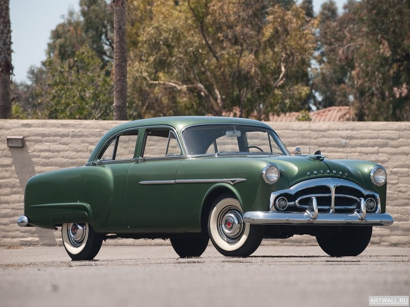 "Постер ""Packard 200 Sedan '1951-52"", 27x20 см, на бумаге от Artwall"