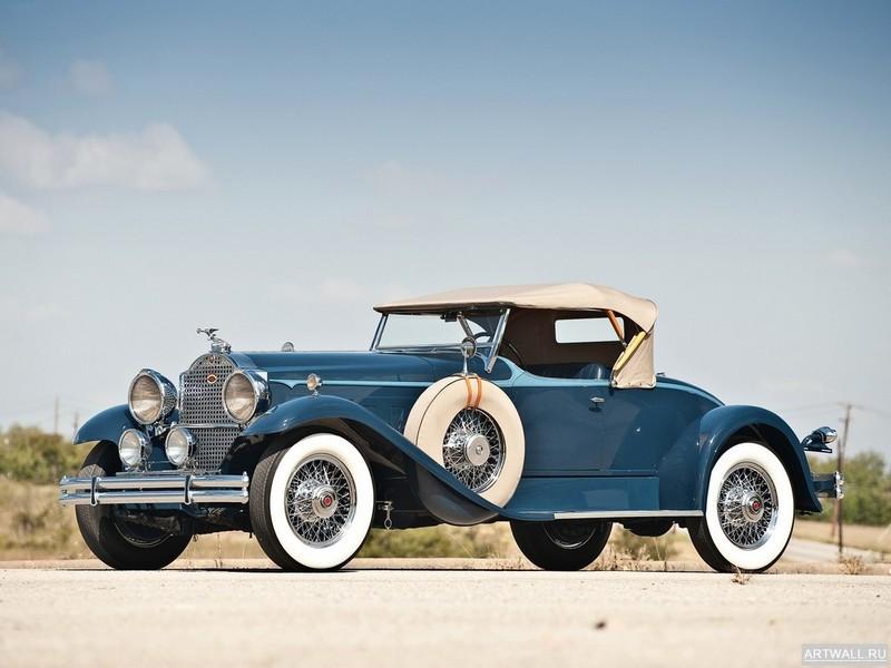 """Постер """"Packard 734 Speedster Runabout '1930"""", 27x20 см, на бумаге от Artwall"""