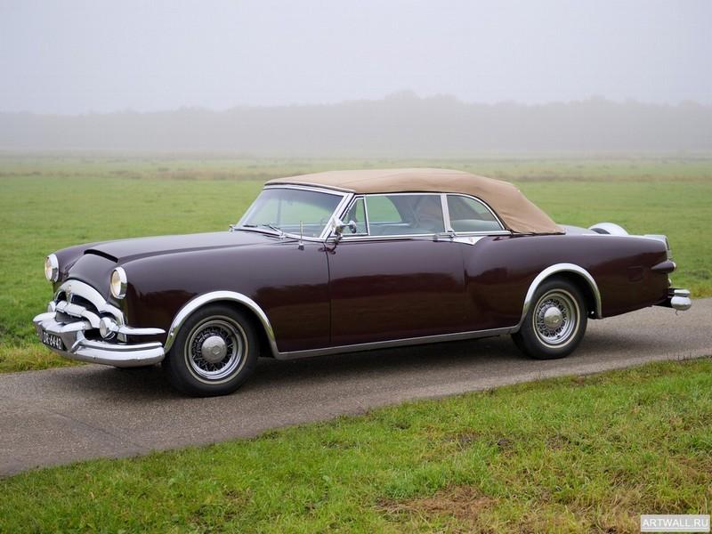 """Постер """"Packard Caribbean Convertible '1953"""", 27x20 см, на бумаге от Artwall"""