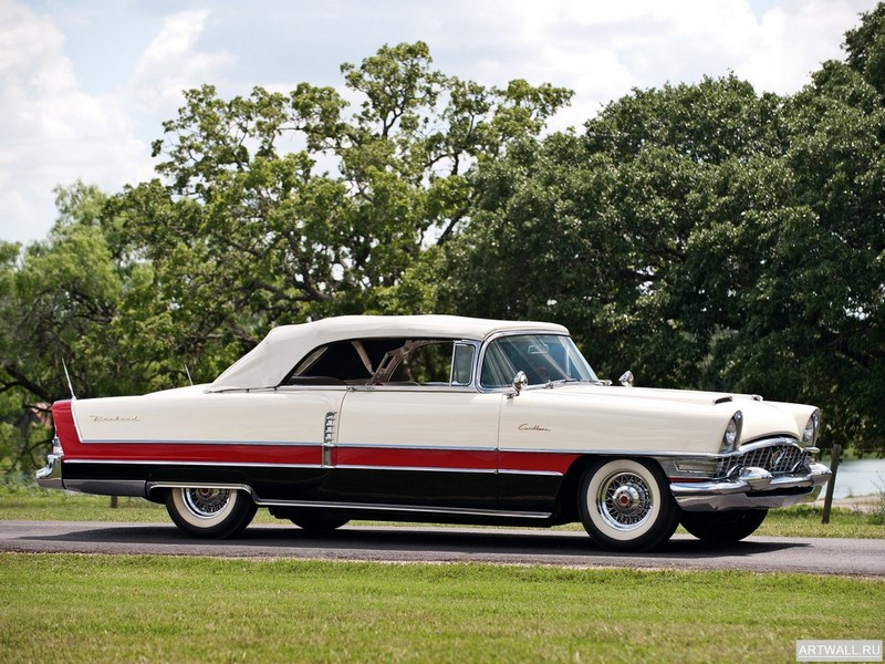 "Постер ""Packard Caribbean Convertible Coupe (5580-5588) '1955"", 27x20 см, на бумаге от Artwall"