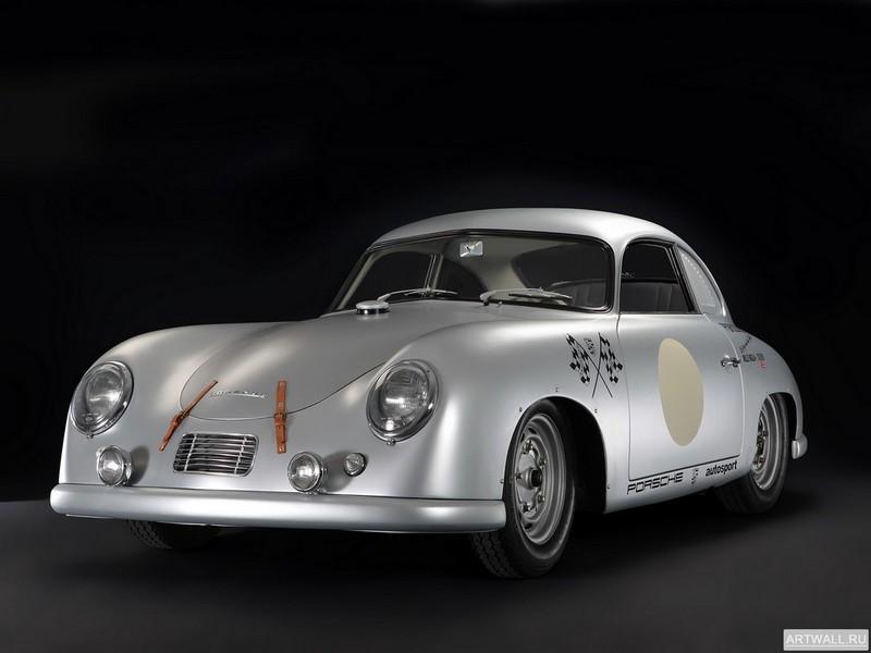 "Постер ""Porsche 356 SL Le Mans '1953"", 27x20 см, на бумаге от Artwall"