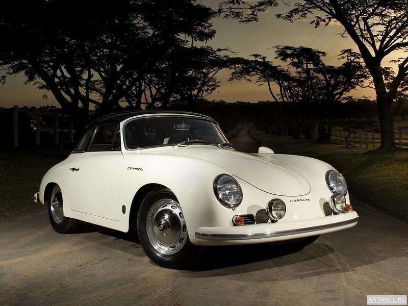 """Постер """"Porsche 356A 1500 GS Carrera de Luxe Speedster '1955-59"""", 27x20 см, на бумаге от Artwall"""