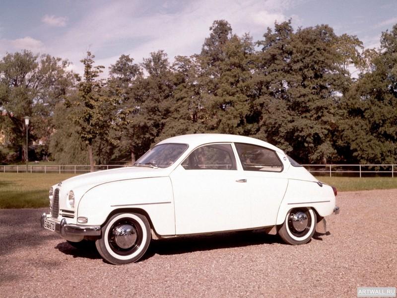 """Постер """"Saab 95 '1959-75"""", 27x20 см, на бумаге от Artwall"""