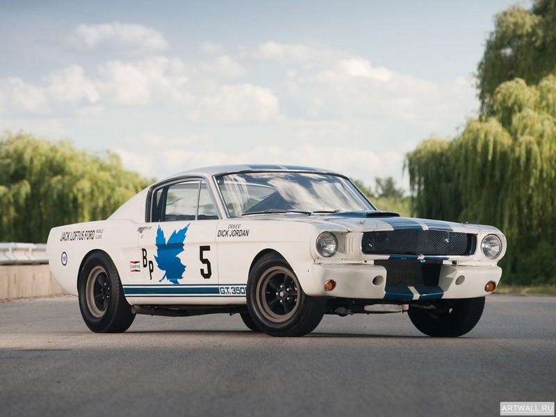 "Постер ""Shelby GT350 R '1965"", 27x20 см, на бумаге от Artwall"