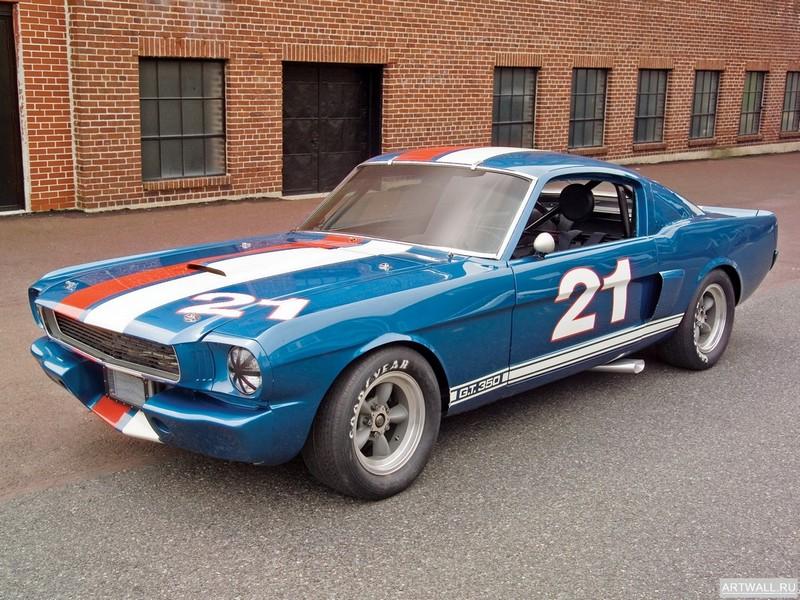 "Постер ""Shelby GT350H SCCA B-Production Race Car '1966"", 27x20 см, на бумаге от Artwall"